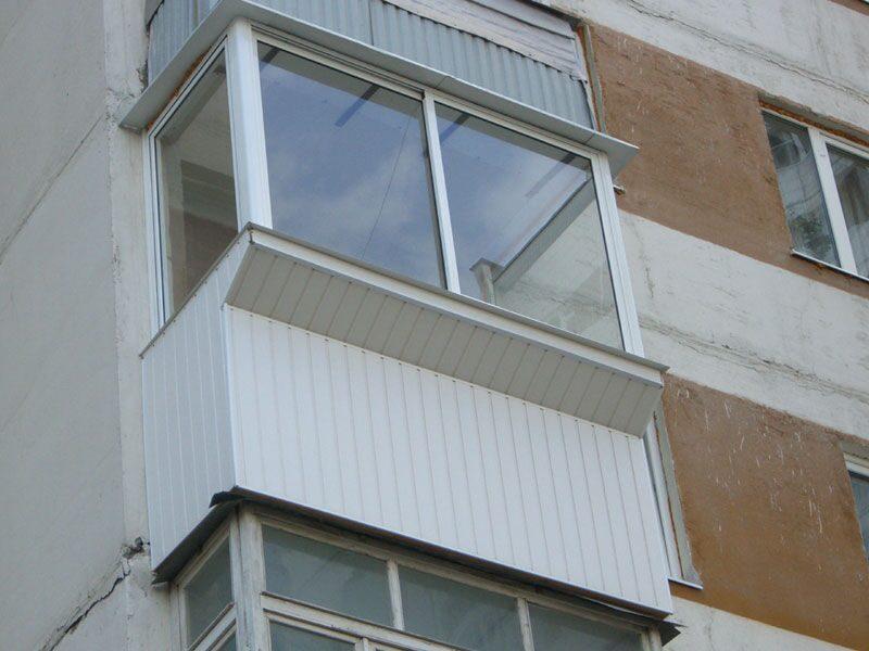Остекление балкона с выносом цена в москве компания балкон-с.